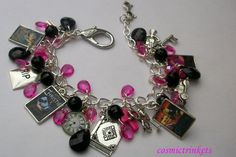 Agatha Christie charm bracelet