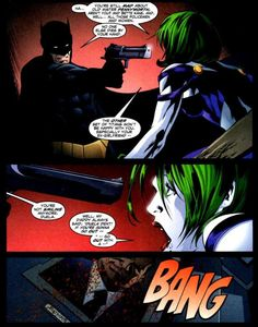 One of the most shocking moments I've read in an alternate universe. Batman kills Duela Dent (Harley Quinn and Joker's daughter) in Titans Tomorrow.