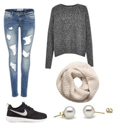 """""""Untitled #2"""" by brenna-mccarty on Polyvore featuring beauty, French Connection, H&M and NIKE"""