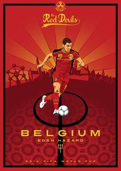 Belgium National Football Team, National Football Teams, Fifa Football, Football Art, Sport Football, College Football, Football Players, Soccer Art, Soccer Poster