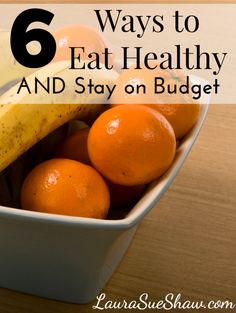 These simple tips will help you stay on budget and save money while still making healthy changes to your lifestyle... Once I implemented #5 I felt SO much better!