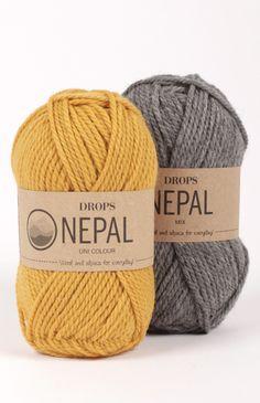 Drops nepal garn