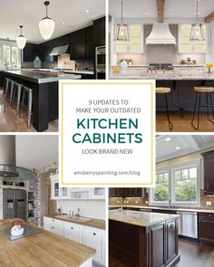 9 Upgrades to Make Your Outdated Kitchen Cabinets Look Brand New #whitekitchen