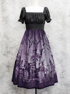 Cemetery dress.