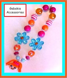 Orange Lala Inspired Chuncky Necklace only $20.00  http://www.gabskia.com/store.php#!/~/product/category=5192045=21804146