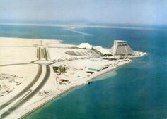 West Bay area of Doha, Qatar, in the 1980s - unrecognizable today!