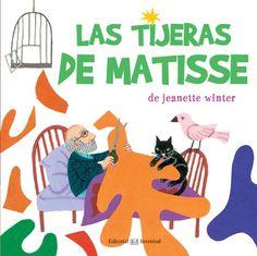 Las tijeras de Matisse, de Jeanette Winter - Editorial: Juventud -  Signatura: I WIN tij -  Código de barras: 3280064 - http://www.editorialjuventud.es/4033.html