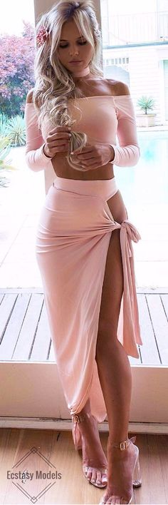 Blushed in Pink // Fashion Look by Hilde Osland