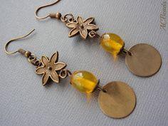 Brincos artesanais/ Handmade earrings