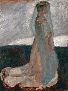 Paula Modersohn-Becker - De veenbruid  (1902)