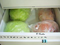 Varza congelata pusa la murat by Cerulina – cerulina Cabbage, Vegetables, Food, Bedroom, Canning, Veggies, Vegetable Recipes, Meals, Cabbages
