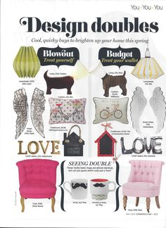 dwell's Angel Wings in Cosmopolitan's May issue
