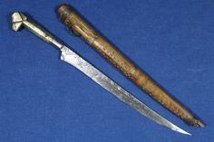 1800-039-s-antique-kabyle-algerian-flyssa-flissa-dagger-Algeria