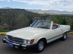 1985 Mercedes-Benz 380SL - could be my new car