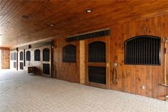 most definitely need horse stables