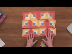 Log Cabin Quilt Block Patterns | National Quilters Circle - YouTube