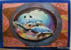 http://meggis-card-art-mb-design.blogspot.de/  Atelier Tausendschön by Meggi, Hier einmal eine Vintage Künstler Karte, kenn sie schon aus Kindertagen. einfach zu schade um sie weg zu werfen. Diese dient als Hintergrund. Marianne Desgn, Nellie Snellen, Karin Jittenmeier, Reddy-Cards