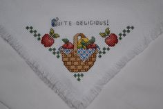 Bread Cloth FINISHED ITEM by mylilsmidget on Etsy