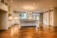 Classic White Kitchen, Crisp, Laundry, Space, Furniture, Home Decor, Laundry Room, Floor Space, Decoration Home