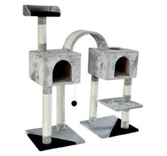 Pawhut 46' Cat Tree Scratching Post Toy Condo Furniture House *** Continue to the product at the image link.