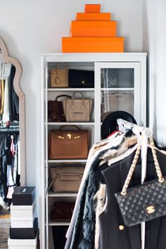 closet organization | A New York City based fashion, beauty and decor blog written by Kat Tanita.