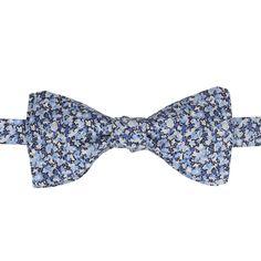 9ce612e9753bb Noeud papillon Liberty / Bow Tie Liberty, modèle Pepper bleu • Gentille  Alouette