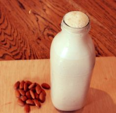 Almond milk - So easy to make fresh
