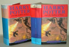 Title - Harry Potter and The Goblet Of Fire. Hardback Harry Potter Book with Original Dustjacket, Dated 2000 Making this a Edition & There is a Number Line -. Goblet Of Fire, Show Lights, Harry Potter Books, Book Show, Dj, Ebay
