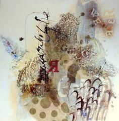"""Bettina Bradt """"Elements I""""    90 x 90 cm"""