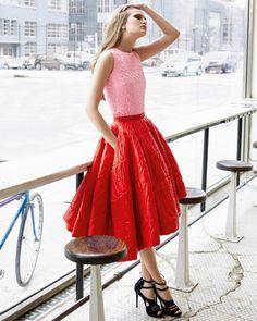 Red & Pink (Raf Simons) #fashion