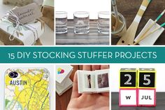 Gift Guide: 15 Awesome DIY Stocking Stuffers and Small Gift Projects