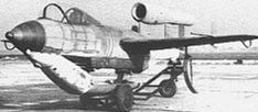 Junkers Ef-126, The second test flight in 1946, this again without the Argus As 044 engine being fitted, this flight ended with the aircraft crashing and killing the pilot Herr Matthies.