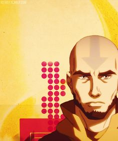 He turned into such a good looking man. :D    #Aang