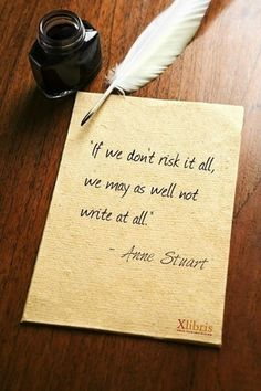 Anne Stuart on risk
