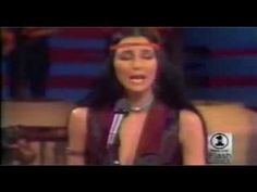 Cher joins in with Rita Coolidge and Kris Kristofferson Cher is in the middle