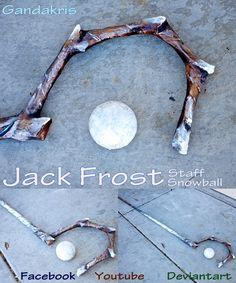 Jack Frost Staff by GandaKris.deviantart.com on @deviantART