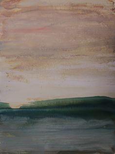 Koen Lybaert - Killybegs - watercolor on paper [40 x 30] / 2015