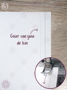 Costura paso a paso: 3 ejercicios básicos para aprender a coser a máquina. – Nocturno Design Blog Design Blog, Love Sewing, My Love, Crochet, Easy, Singer, Love, Sewing Stitches, Sewing Techniques