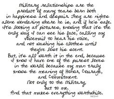 military relationships
