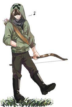 画像 Relife Anime, Cute Anime Chibi, Hot Anime Boy, Character Art, Character Design, Minecraft Anime, Creepers, Manga, Creepypasta