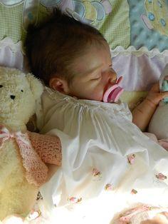 ✿Beverleys Babies✿ amazing life size REBORN baby girl doll. 3D SKIN, GHSP