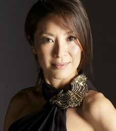 Tomorrow Never Dies: Michelle Yeoh ミシェール·ヨー (Malaysia; ballet dancer) as Wai Lin (other BG: Teri Hatcher, US, as Paris Carver) Michelle Yeoh, Korean Beauty Girls, Asian Beauty, Girl Celebrities, Celebs, Kelly Hu, My Fair Lady, Wonder Women, Sexy Older Women