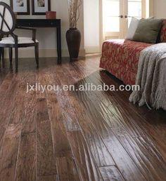 hand-scraped engineered hardwood flooring