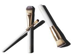 Eve Lom white makeup brushes / Garance Doré Goods