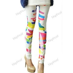 Presell Casual Nylon Printing Tights & Leggings for Women Girl Ladies DCD-264040