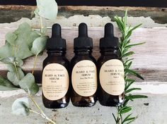 All-Natural. Scented or Unscented. Gift For Him. Clary Sage Essential Oil, Essential Oil Scents, Eucalyptus Essential Oil, Natural Oils, Natural Skin Care, Mens Beard Oil, Facial Oil, Bath And Body, Plant Based