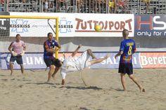 #BeachSoccer: #Pasquali sfodera uno dei suoi numeri sulla #sabbia di Terracina