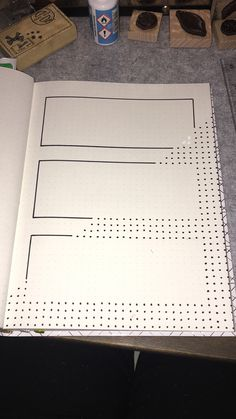 Simple Dot Weekly Layout