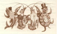Alice's Illustrated Adventures In Wonderland: Chapter 10 ~ The Lobster Quadrille