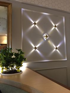 New diamond lighting design.